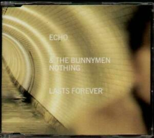 ECHO & THE BUNNYMEN Nothing Lasts Forever CD 3 Tracks Inc Watchtower+Polly