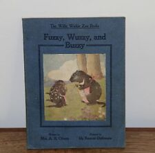 Fuzzy, Wuzzy and Buzzy - The Willie Winke Zoo Book