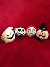 Nightmare Before Christmas Set of 4 Hallmark Fluffballs Jack Sally Mayor Oogie