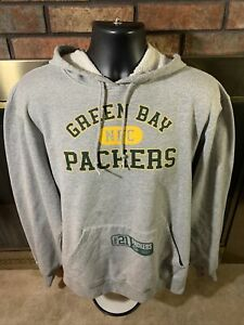 Green Bay Packers NFL Football Hooded Sweatshirt Mens Sz Large NFC North Reebok