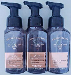 3 Bath & Body Works AROMATHERAPY SLEEP Gentle Foaming Hand Soap 8.75 FL OZ
