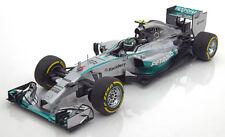 Minichamps Mercedes W05 GP Abu Dhabi 2014 Rosberg #6 1/18 LE of 504 New In Stock