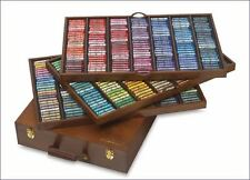 Sennelier Soft Pastels - Professional Artists Pastels - 525 The King Wooden Box
