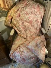 More details for 40's soft cotton paisley feather filled eiderdown 63insx38ins