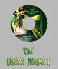 THE GREEN HORNET 35 Old Time Radio Shows RARE Vintage OTR 1 CD SUPERHERO Sci-Fi