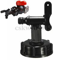 1000L IBC To (15mm) 1/2'' Water Tank Yard Hose Adapter Fittings With   !