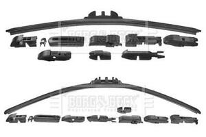 Pair Wiper Blades Flat Left/Right FOR BMW E92 1.6 2.0 2.5 3.0 4.0 4.4 06->13 BB
