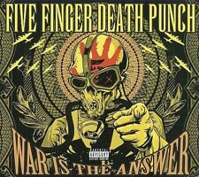 WAR IS THE ANSWER: Five Finger Death Punch [DIGIPAK] CD & BONUS DISC DVD