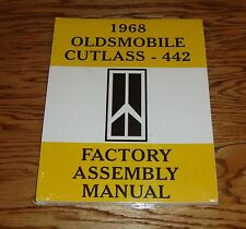 1968 Oldsmobile Cutlass 442 Factory Assembly Manual 68