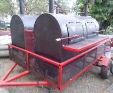 Custom Built Commercial Smoker Grill
