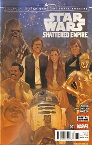 Journey to Star Wars: The Force Awakens - Shattered Empire Nr. 1 (2015)