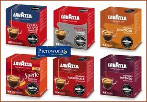 144 original capsules Lavazza A Modo Mio espresso coffee pods 6 flavors # 36 108