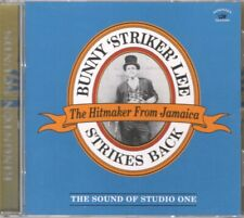 BUNNY LEE Strikes Back: the Sound of Studio One CD Europe Kingston Sounds 2017