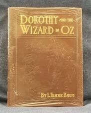 DOROTHY AND THE WIZARD OF OZ  L. FRANK BAUM Easton Press Leather HC Sealed Gold