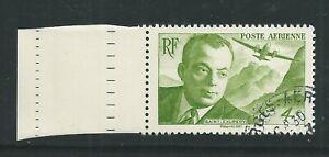 Timbre Vert Antoine de Saint Exupéry1900-1944 Biennale de printemps 2021oblitéré