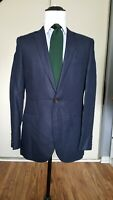 NWOT J Crew Ludlow 100% Linen Navy Blazer Jacket Sports Coat size 40R Slim Fit