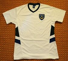 Portsmouth, Pompey, Leisure White Football Shirt, Mens Medium