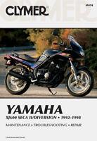 CLYMER 1992-1998 Yamaha XJ600S Diversion/Seca II REPAIR MANUAL M494