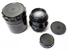 Jupiter 9 85mm F2 Lens | C1975 | Caps + Case | Fine Quality Soviet Lens.