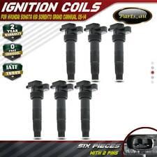 6x Ignition Coils for Hyundai Sonata Grandeur Kia Sorento Grand Carnival Rondo