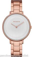 Skagen SKW2331 Women's Gitte Rose Gold Tone Stainless Steel 2-Hand Analog Watch
