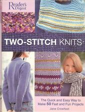 Reader's Digest Two-Stitch Knits - 50 quick & easy fun projects, spiral HB