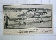 1917 France's New Giant Aeroplane Condron Double Engine