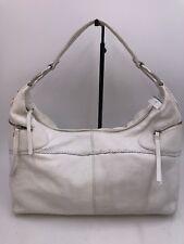 SIGRID OLSEN Designer White Pebbled Leather Hobo Tote Shoulder Handbag 7185775b1c