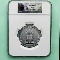 2010-P  5 oz Silver Coin, ATB, Hot Springs, NGC SP 70