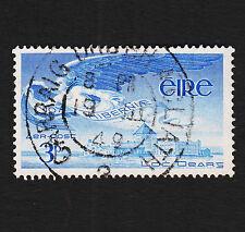 1948 Ireland 3p Airmail Sc#C2 Used Sound VF Bullseye Cancel
