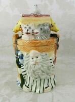 "Noah's Ark Ceramic Cookie Jar 10.5"" H"