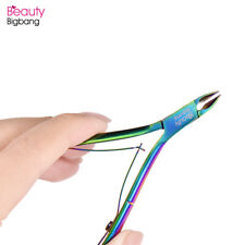 Nail Cuticle Nipper Cutter Plier Rainbow Clipper Scissor Trimming Manicure Tools