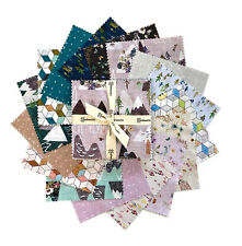 """FOREST GLADE Square Bundle from Clothworks - (42) 5"""" fabric squares - #SQ0314"""