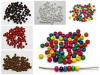 """500 6mm(1/4"""") Round Wood Beads~Wooden beads Color for Choice"""