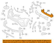 TOYOTA OEM RAV4 Front Bumper Grille-Impact Reinforcement Bar Rebar 520210R080