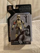 STAR WARS THE BLACK SERIES SHORETROOPER 50th ANNIVERSARY (pre-owned)