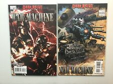 Marvel 2009 Dark Reign War Machine 2-12 Complete Variant Greg Pak Iron Man