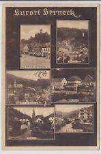 AK Bad Berneck, Hoferstrasse, Hotel Bube, Gasthof 1925