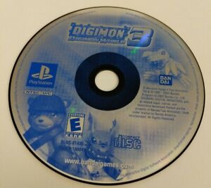 Digimon World 3 (Sony PlayStation 1, PS1) *Disc Only* Tested - FREE SHIPPING