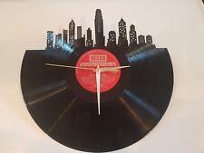 Hong Kong Skyline Record Vinyl Clock 12'' Vinyl Christmas Gift Hong Kong Record