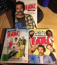 My Name is Earl Staffel 1-3 * DVD * neu & verschweißt