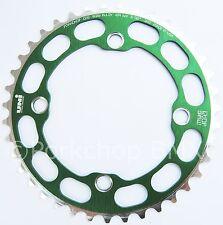 Porkchop BMX single speed bicycle Chop Saw I Chainring 39T 4 bolt 104 bcd GREEN