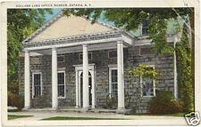 HOLLAND LAND OFFICE MUSEUM, BATAVIA, N.Y. NEW YORK