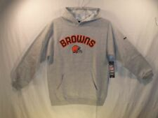 Cleveland Browns NFL Hoodie REEBOK Youth Medium (10/12) NEW