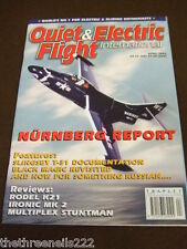 QUIET & ELECTRIC FLIGHT INTERNATIONAL - SLINGSY T31 - APRIL 2002