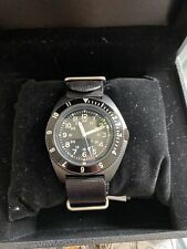 Benrus Type 11 Military Watch Quartz Black