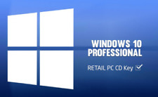 INSTANT DELIVERY -- WINDOWS 10 PROFESSIONAL PRO KEY 32 & 64 BIT ACTIVATION CODE