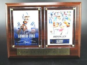 Andrew Luck Indianapolis Colts Wood Wall Picture 20 CM, Plaque NFL Football