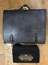 "LAST ONE!! BN RALPH LAUREN RRL ""JEROME"" BRIDLE LEATHER EXECUTIVE BRIEFCASE BAG"