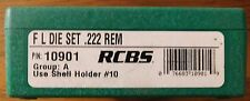 RCBS .222 Remington Full Length Reloading 2- Die Set 10901
